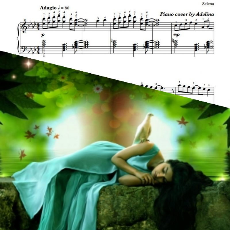 """Dreaming of You"" – Selena – Piano Sheet Music"