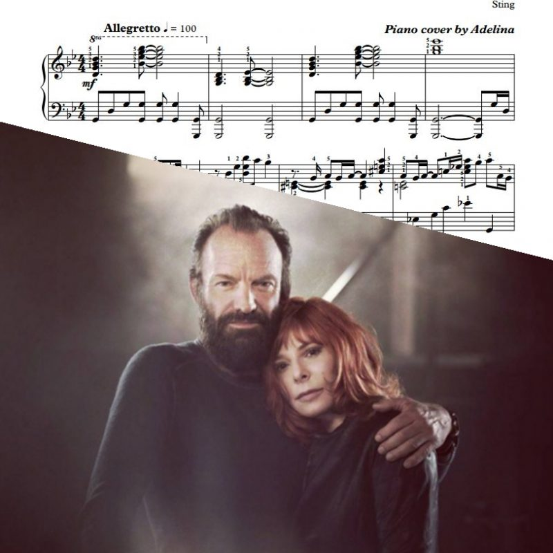 """Stolen Car"" – Sting – Piano Sheet Music"