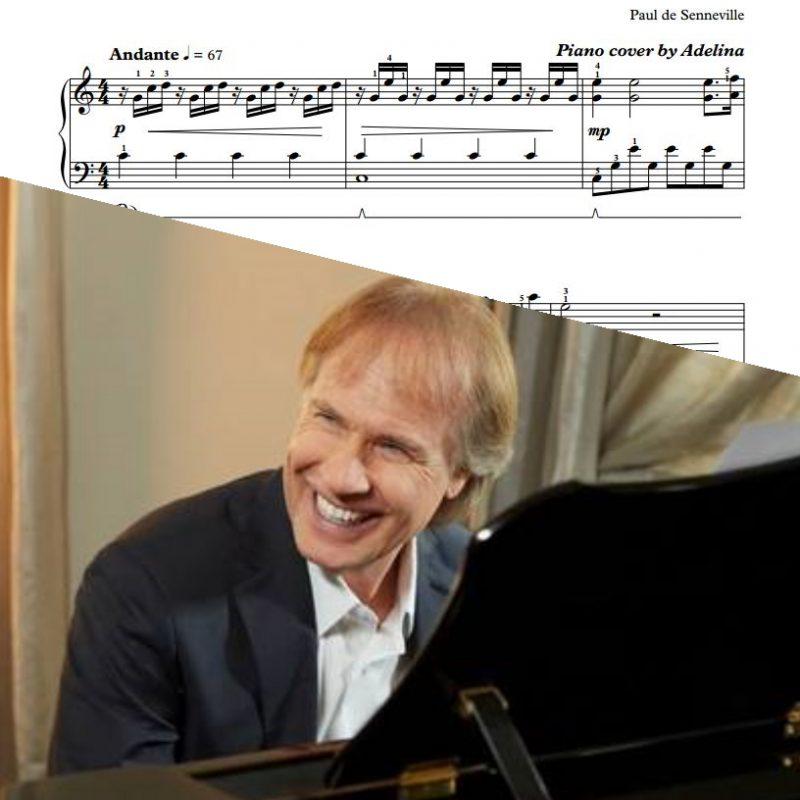 """Ballade Pour Adeline"" – Richard Clayderman – Piano Sheet Music"