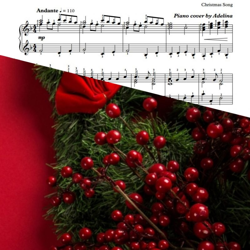 """Angels We Have Heard On High"" – Christmas Song – Piano Sheet Music"