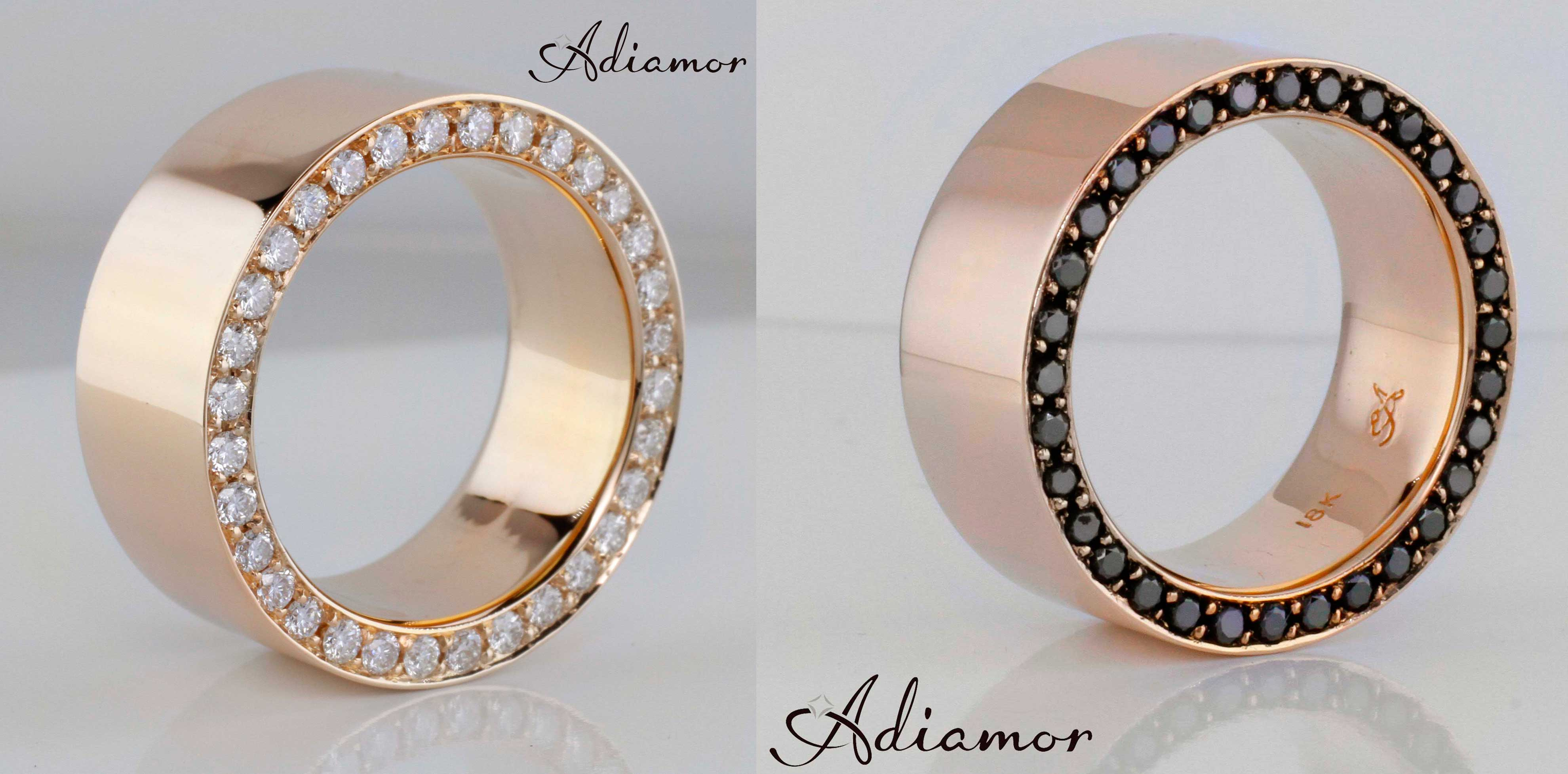 mens wedding bands male wedding bands customer favorite Custom Rose Gold Men s Rings