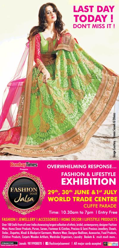 Fashion Jalsa 2018 Lifestyle Exhibition Ad - Advert Gallery