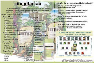 INTRA Food supplement For Sale Cebu City Cebu-Philippines ...