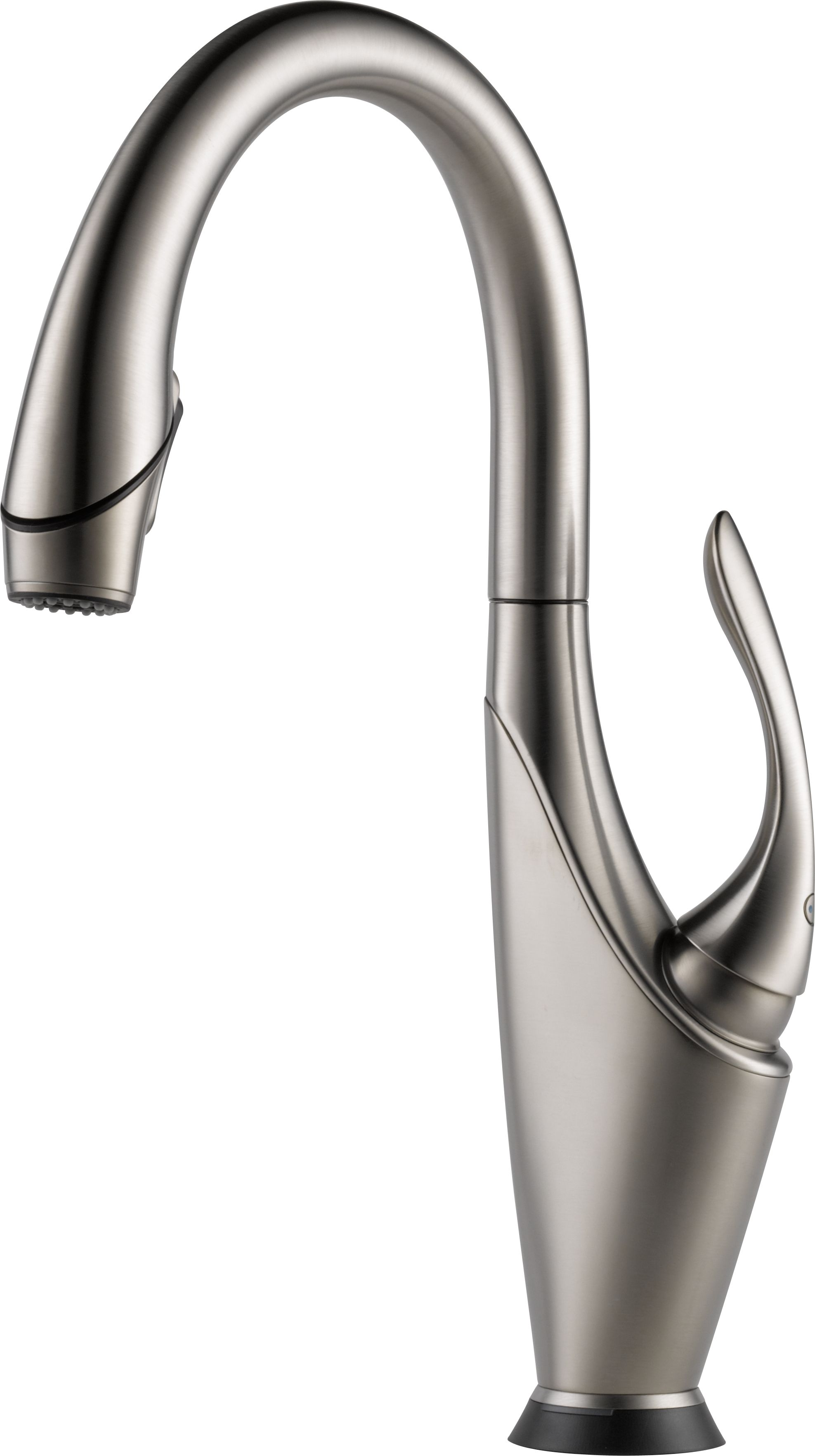 brizo lfss vuelo stainless single handle pulldown kitchen faucet with smarttouch technology p brizo kitchen faucets Brizo LF SS Vuelo Stainless Single Handle Pull Down Kitchen Faucet with Smarttouch Technology