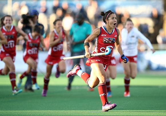 USA picked up a number of awards in Johannesburg Photo: FIH/Getty Images