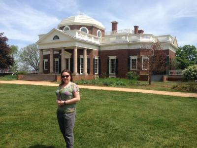Visiting Virginia's Monticello With A Frugal Chick