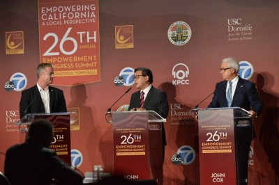 California governor candidates get contentious at first town hall - Black News