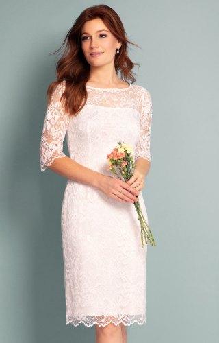 Lila Wedding Dress Short Ivory short ivory wedding dresses Lila Wedding Dress Short Ivory by Alie Street