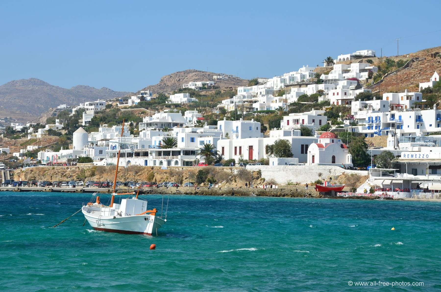 Photo  Chora   Mykonos Island   Greece Chora   Mykonos Island   Greece
