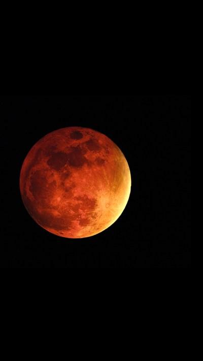 Blood Moon iPhone Wallpaper HD