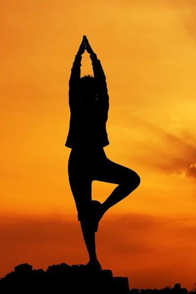 Yoga Pose iPhone Wallpaper HD