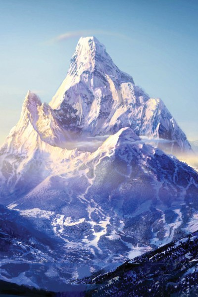 Mystical Mountain iPhone Wallpaper HD