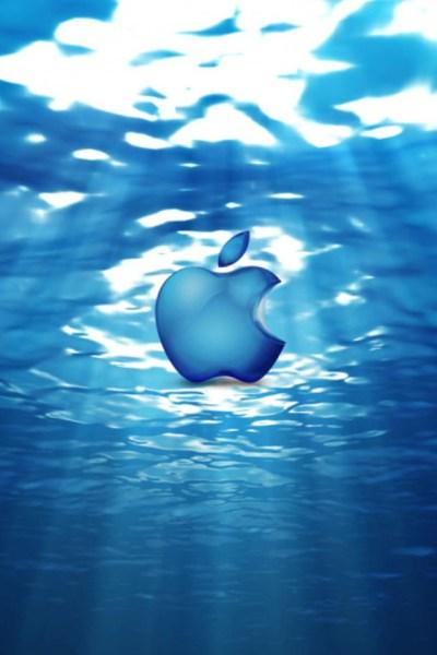 Apple Underwater iPhone Wallpaper HD