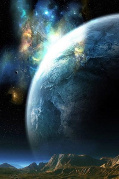 Planet Closeup iPhone Wallpaper HD