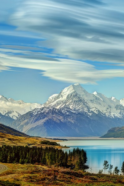 New Zealand Mountains iPhone Wallpaper HD