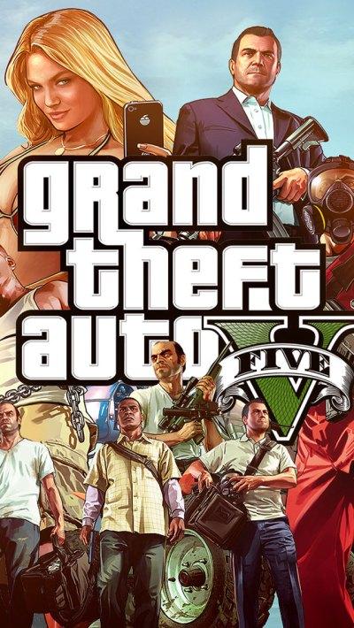 Grand Theft Auto 5 iPhone Wallpaper HD