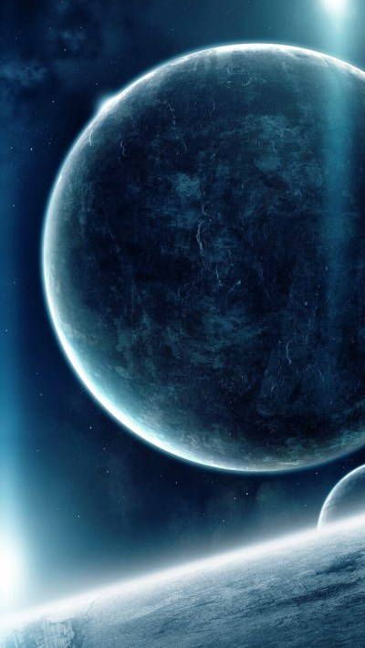 Big Planet iPhone Wallpaper HD