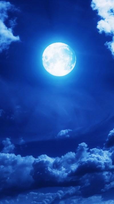 Full Moon iPhone Wallpaper HD