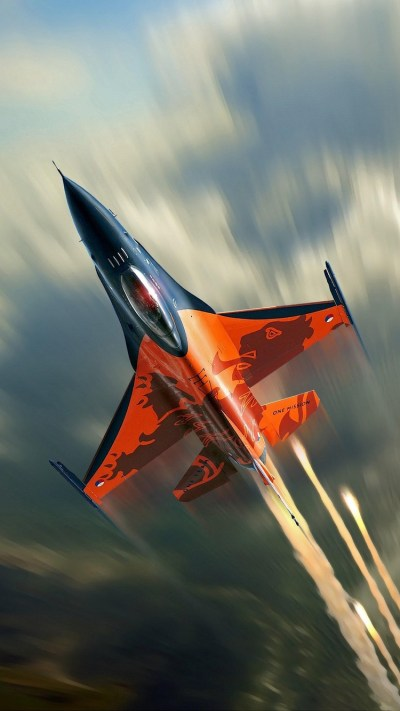 F16 Fighting Falcon iPhone Wallpaper HD