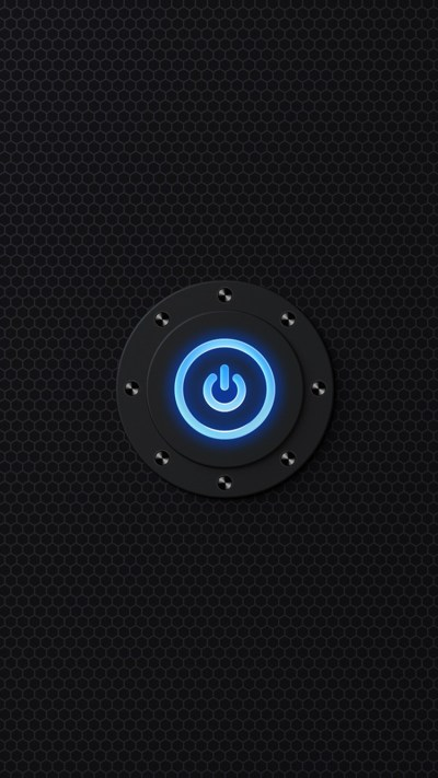 Power Button iPhone Wallpaper HD