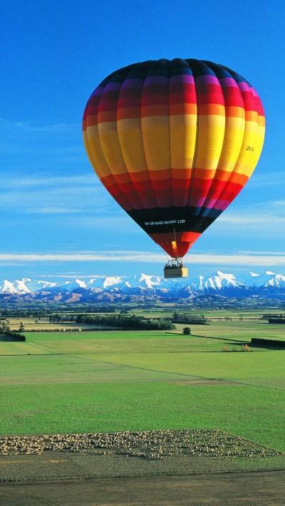 Hot Air Balloon iPhone Wallpaper HD