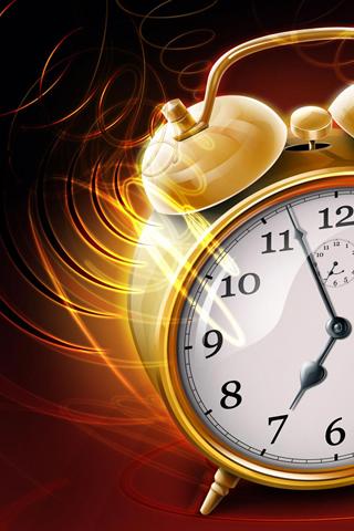 Alarm Clock iPhone Wallpaper HD
