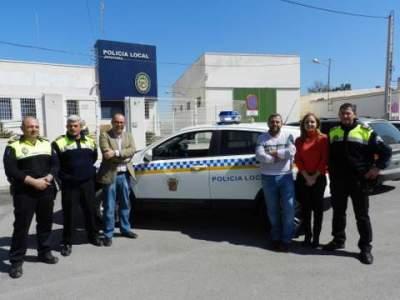El Ayuntamiento de Huércal-Overa adquiere un nuevo coche para la Policía Local. Almería ...