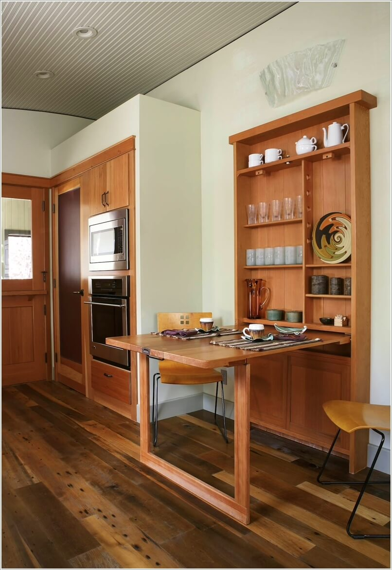 small dining table ideas for tiny spaces small kitchen table ideas Small Dining Table Ideas for Tiny Spaces 8
