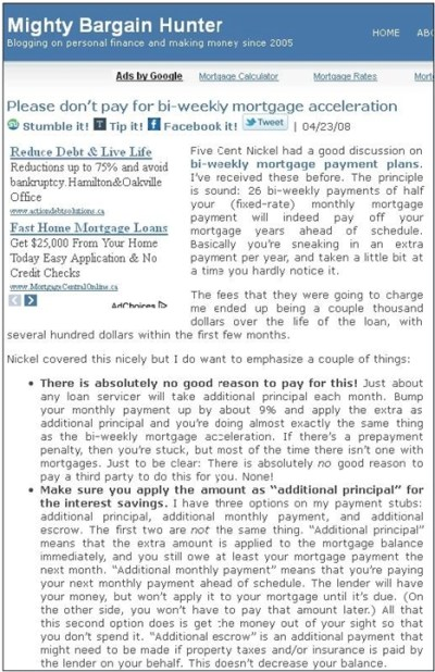 Biweekly Mortgages Explained
