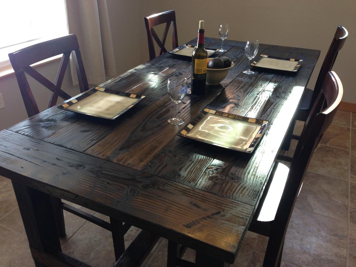 farm style dining table farm style kitchen table Farm Style Dining Table