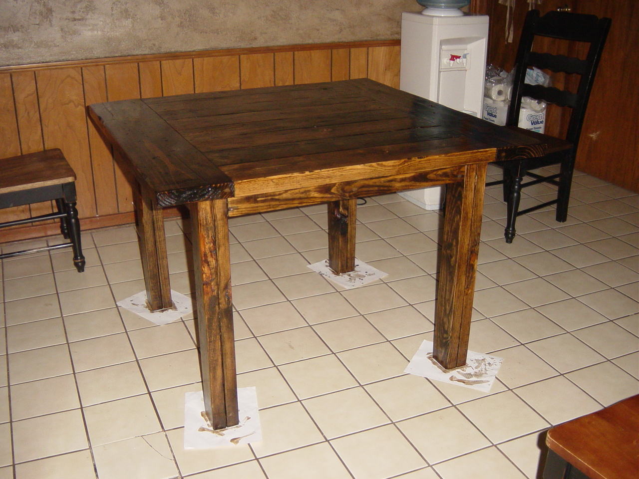 square kitchen table modified tryde coffee table square kitchen table Ana White Square Kitchen Table Modified Tryde Coffee Table DIY Projects