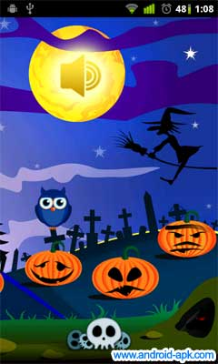 可愛的 Halloween Live Wallpaper | Android-APK