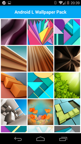 100 tolle Wallpaper für Android L mit Material Design   Android User