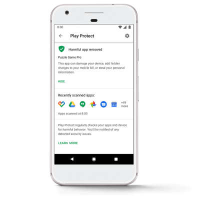 Android – Google Play Protect