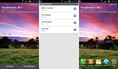Best functional live wallpapers for Android