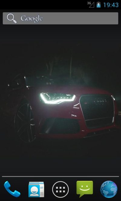 Audi RS6 Live Wallpapers Android App APK by ozhar