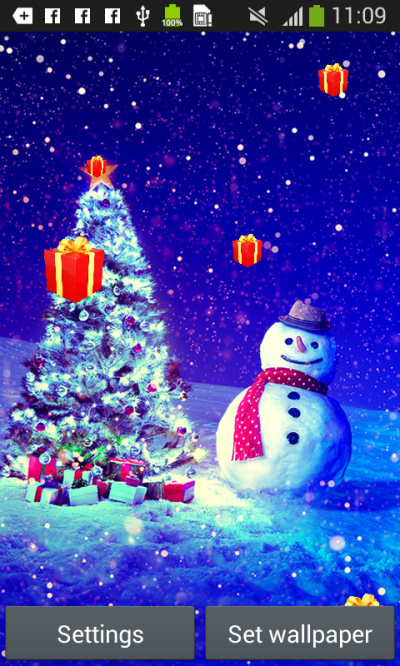 Christmas Live Wallpapers free APK android app - Android Freeware