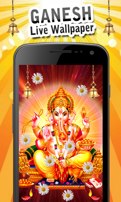 Ganesh Live Wallpaper New Android App APK by Gigo Multimedia