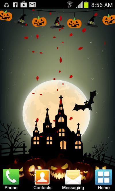 Halloween Live Wallpaper New Android App APK by Noor Media Apps
