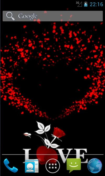 Love Hearts Live Wallpapers free APK android app - Android Freeware