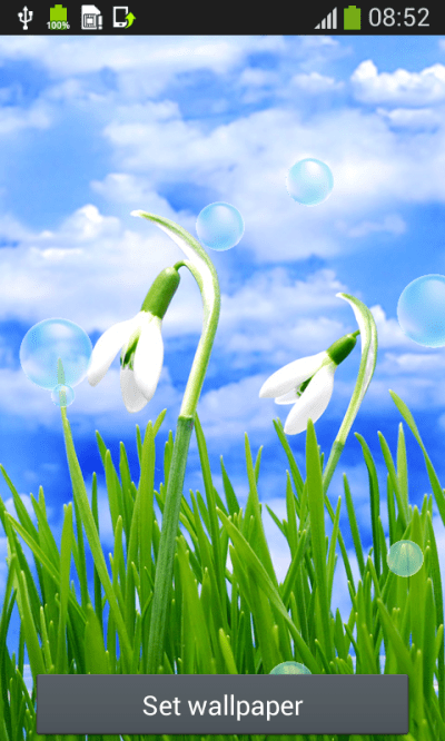 Spring Live Wallpapers Free Android App APK by Popular Melodies
