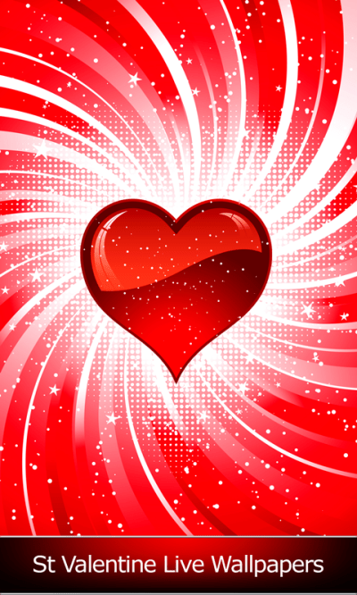 St Valentine Live Wallpapers Android App APK by Blue Jay Soft