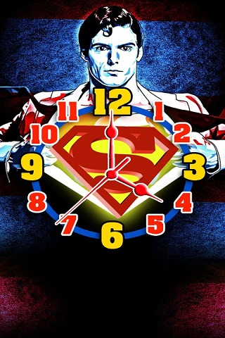 Superman Clock Live Wallpaper Android App APK by Totallyproducts