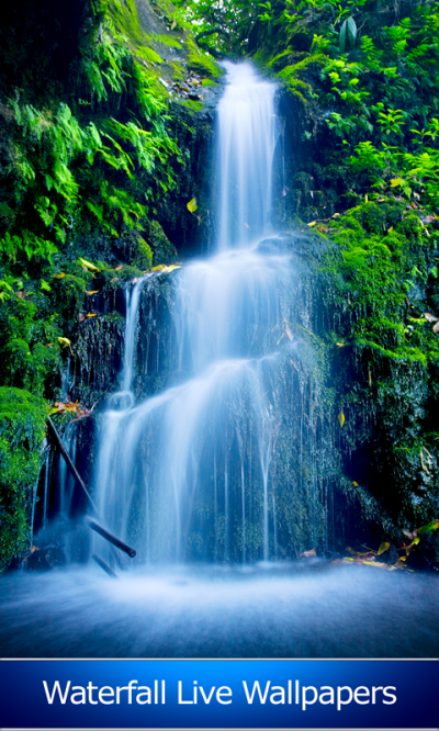Waterfall Live Wallpapers Best Android App APK by Blue Jay Soft