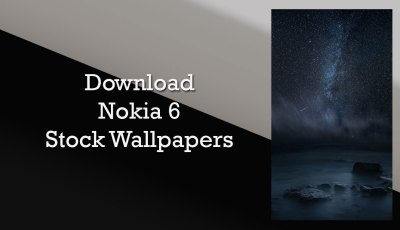 Download Nokia 6 Stock Wallpaper