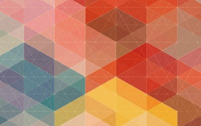50 rich and colorful geometric wallpapers for your mobile devices (HD and QHD resolution)