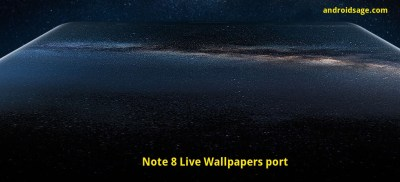 Install Samsung Galaxy Note 8 Live Wallpapers , ringtones, and more [Downloads]