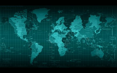 Resolution 2560x1600 Wallpapers: Abyss world map Android ...