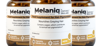 melaniq anti gray hair remedy