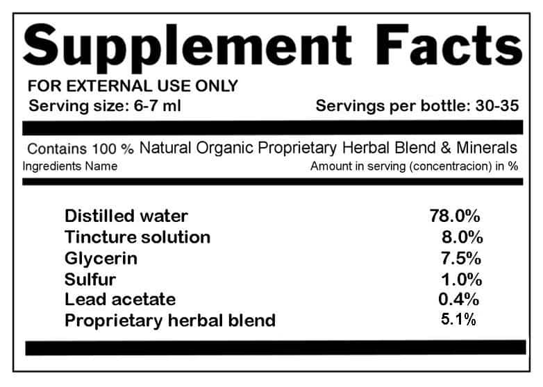 fitoforce ingredient list